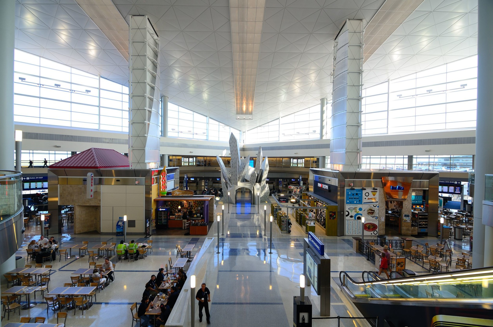 Fort Worth International Airport in Dallas, Texas