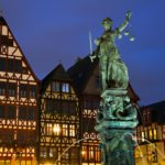 Medieval Timberframe houses and Lady Justice in Frankfurt Germany 150x150 Frankfurt Layover