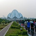 Lotus Temple in Delhi, India