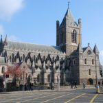 Christ Church Cathedral in Dublin, Ireland