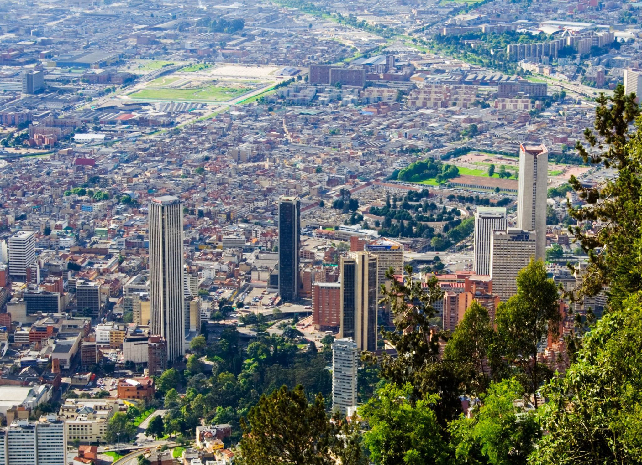 Bogota downtown. Colombia