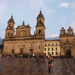 Cathedral Square in Bogota, Colombia
