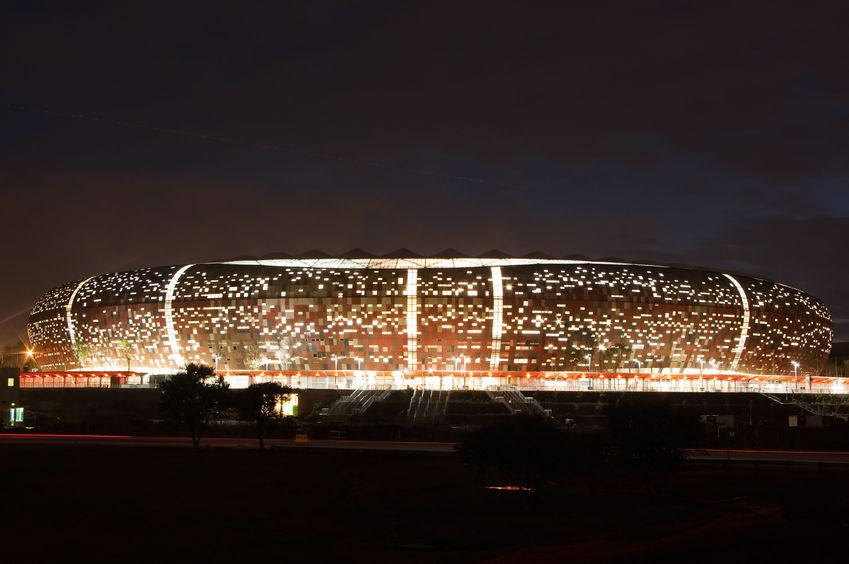 Johannesburg stadium, South Africa