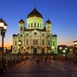 Christ the Savior Cathedral in Moscow Russia