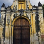 Gate to the Church in Antigua, Guatemala