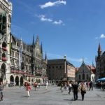 Marienplatz in Munich, Germany