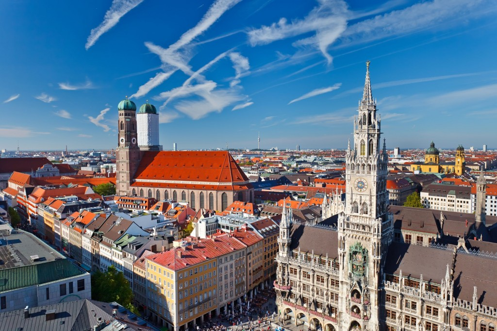 Munich skyline 1024x682 Munich Layover