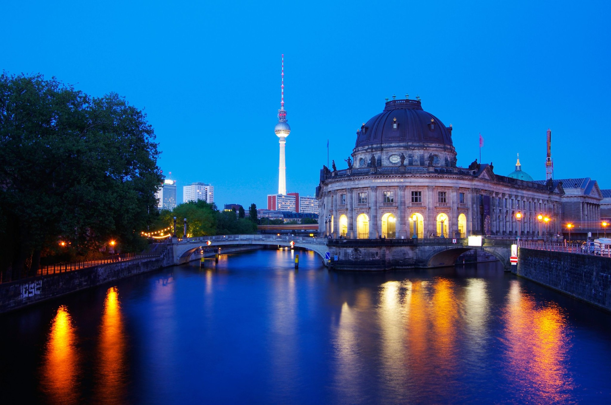 Museum Insula and Bode Museum in Berlin