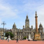 George Square in Glasgow Scotland
