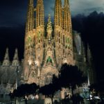 La Sagrada Familia Cathedral in Barcelona, Spain