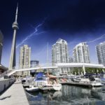 Lightening over Toronto Canada 150x150 Toronto Layover