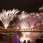 Riverfire in Brisbane, Australia