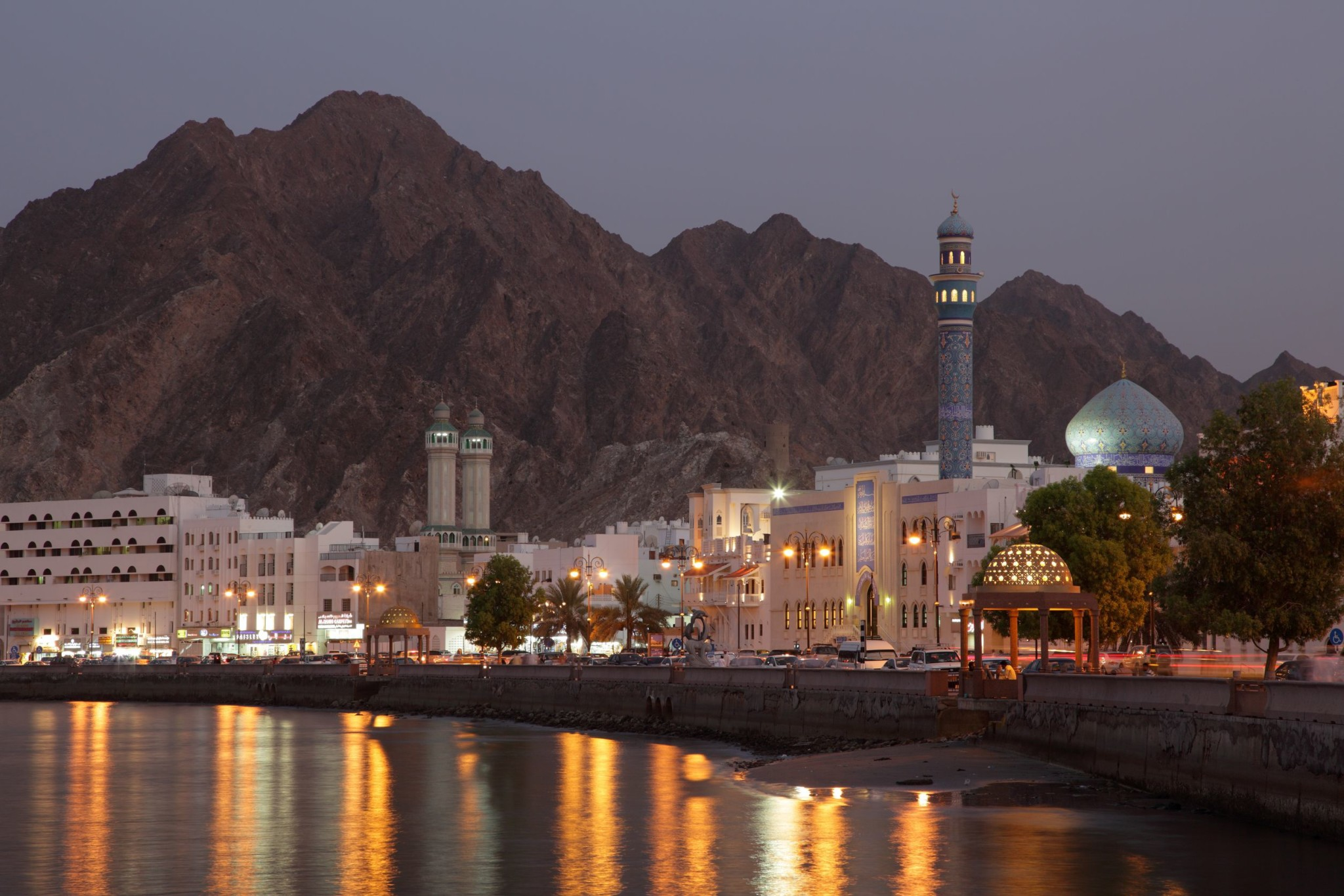 Muttrah Corniche in, Muscat, Sultanate of Oman