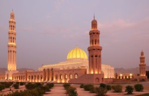 Sultan Qaboos Grand Mosque in Muscat Oman 300x194 Sultan Qaboos Grand Mosque in Muscat, Oman