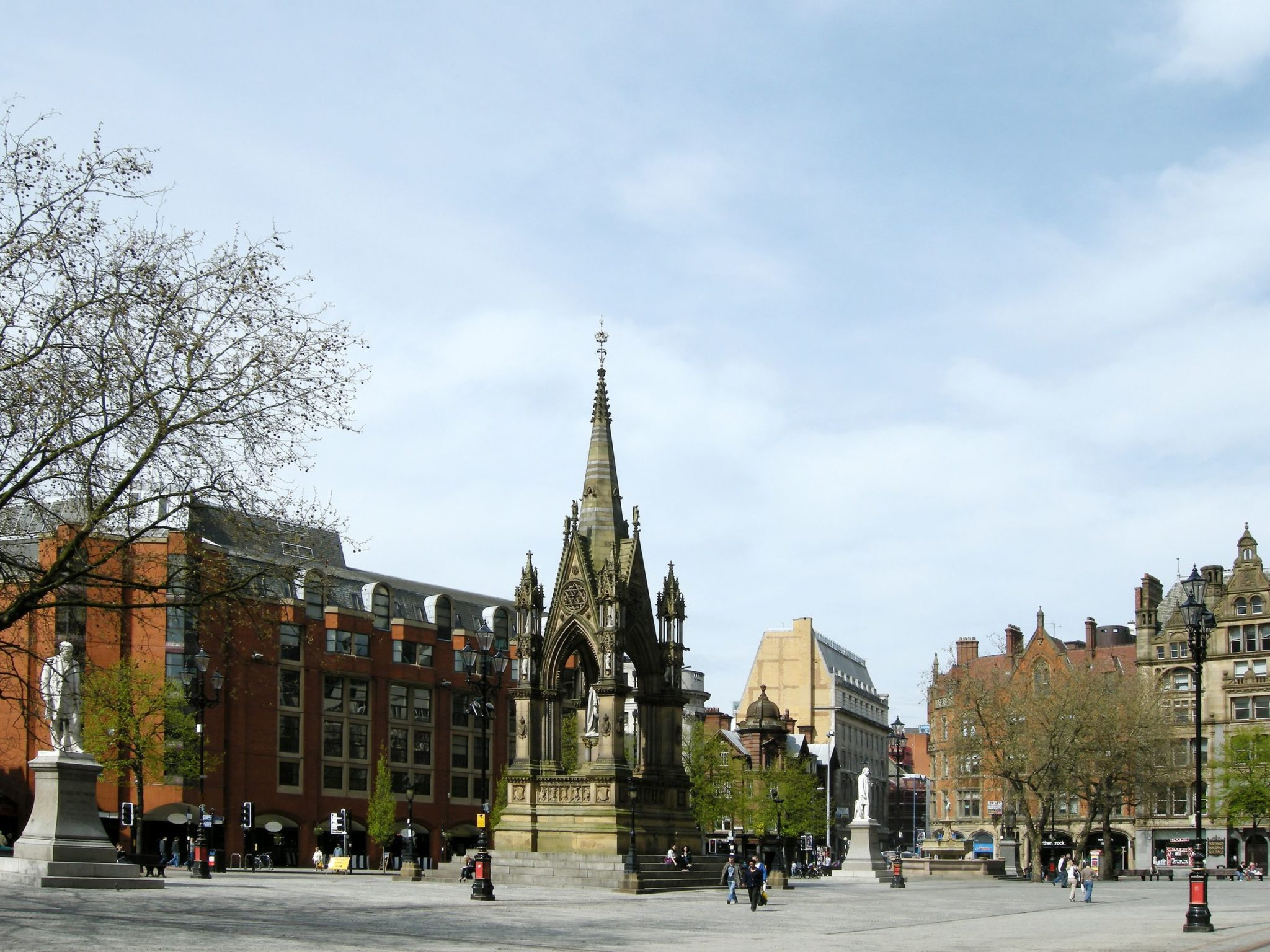 Town Hall Square in Manchester