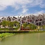 Beijing National Stadium in Beijing, China