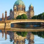 Berlin Cathedral (Berliner Dom) and Spree River in Berlin, Germany