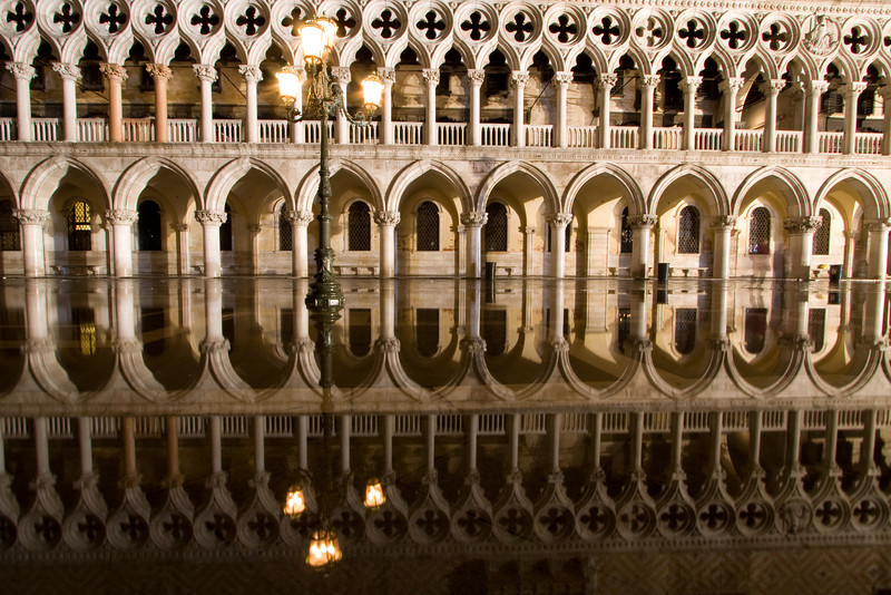 Doge Palace in Venice Italy