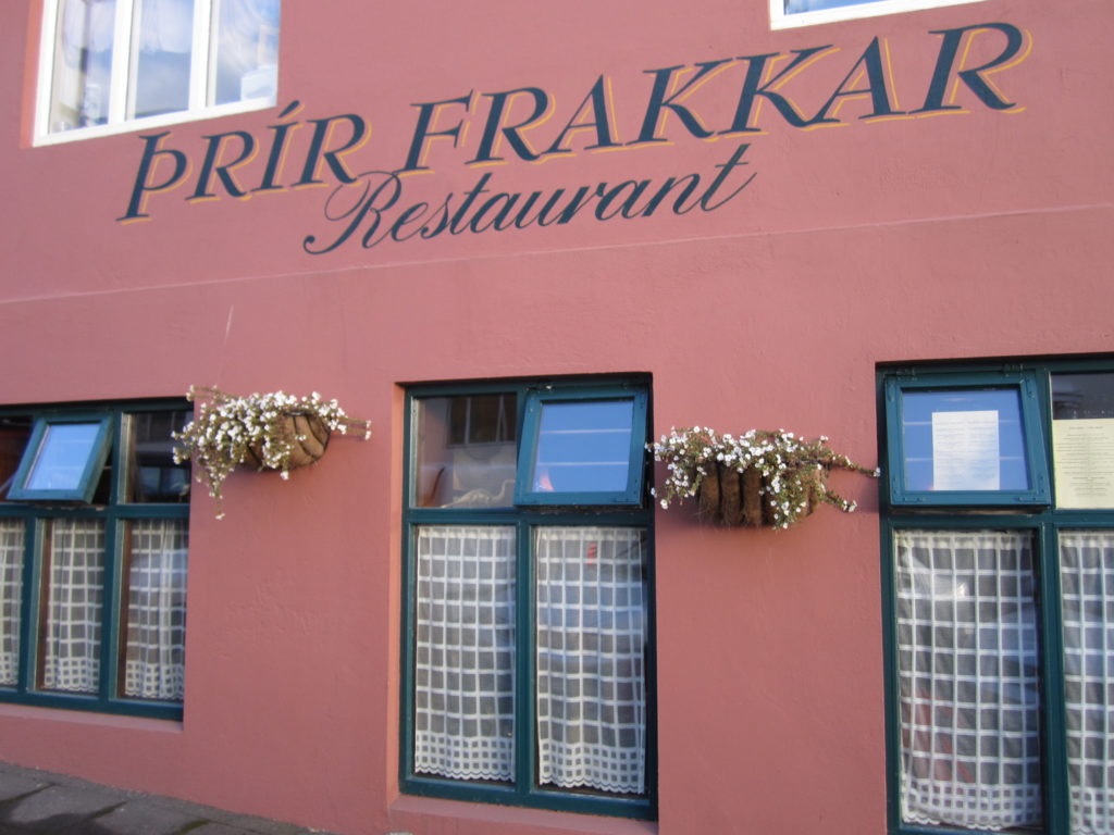 Top Restaurants in Reykjavik, Iceland