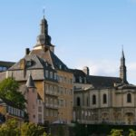 Old center of Luxembourg City