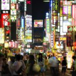 Kabukicho, the red light district of Tokyo, Japan
