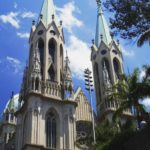 Cathedral of Se of Sao Paulo in Sao Paulo, Brazil