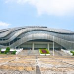 Guangzhou Velodrome in Guangzhou China