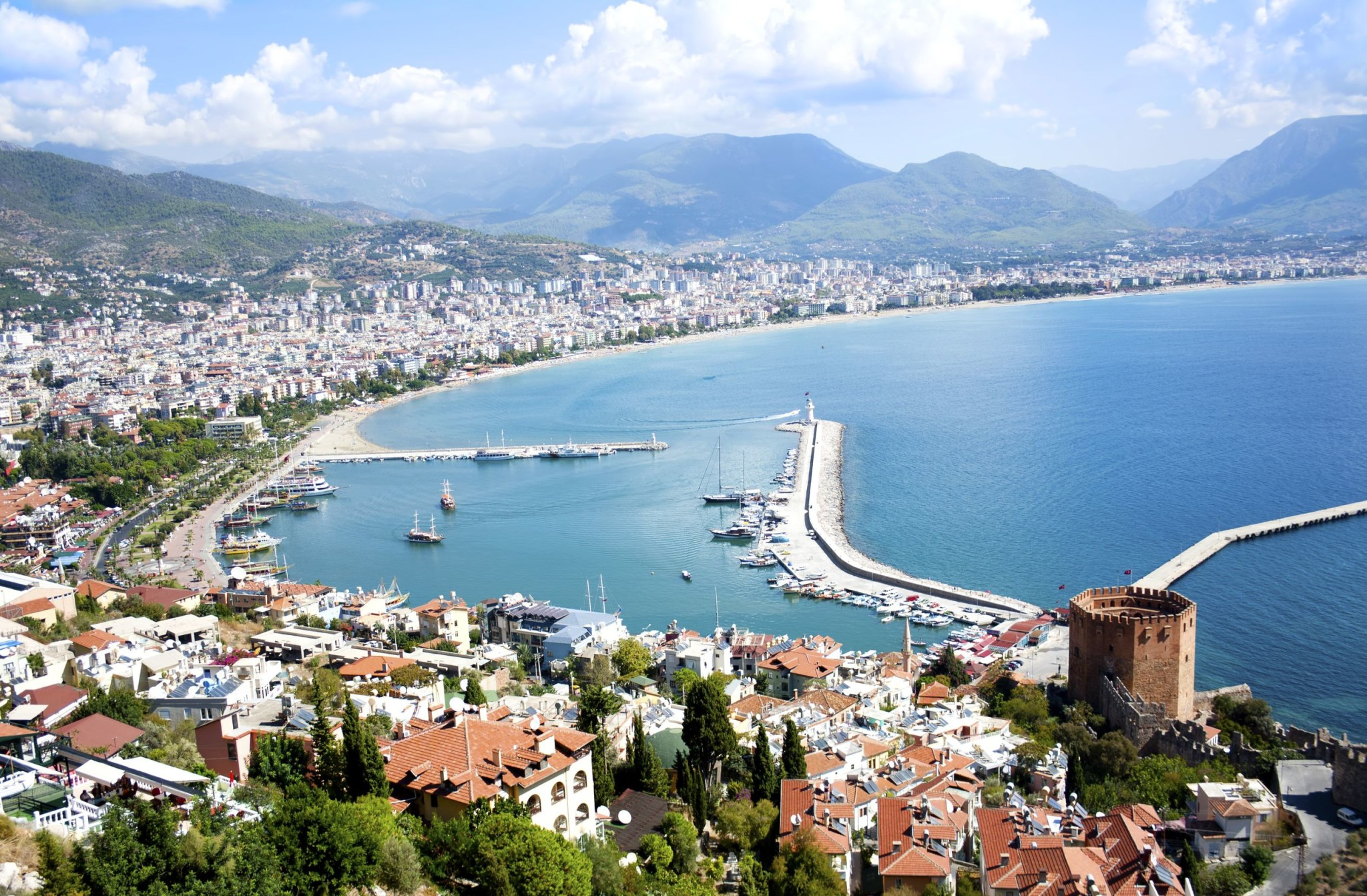 Antalya coastline, Turkey : Layover Guide Antalya