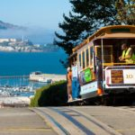 A cable car on top of Hyde Street in San Francisco California 150x150 San Francisco Layover