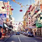 Chinatown in San Francisco, California