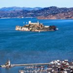 Fishermans Wharf and Alcatraz Island in San Francisco