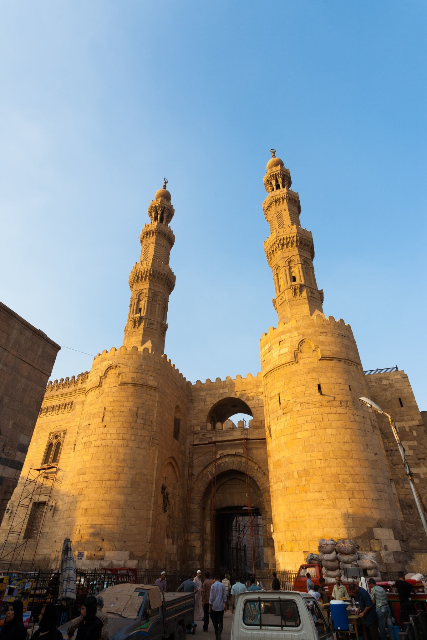 Ancient gateway to old Cairo