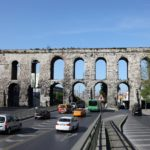 Aqueduct of Valens in Istanbul, Turkey