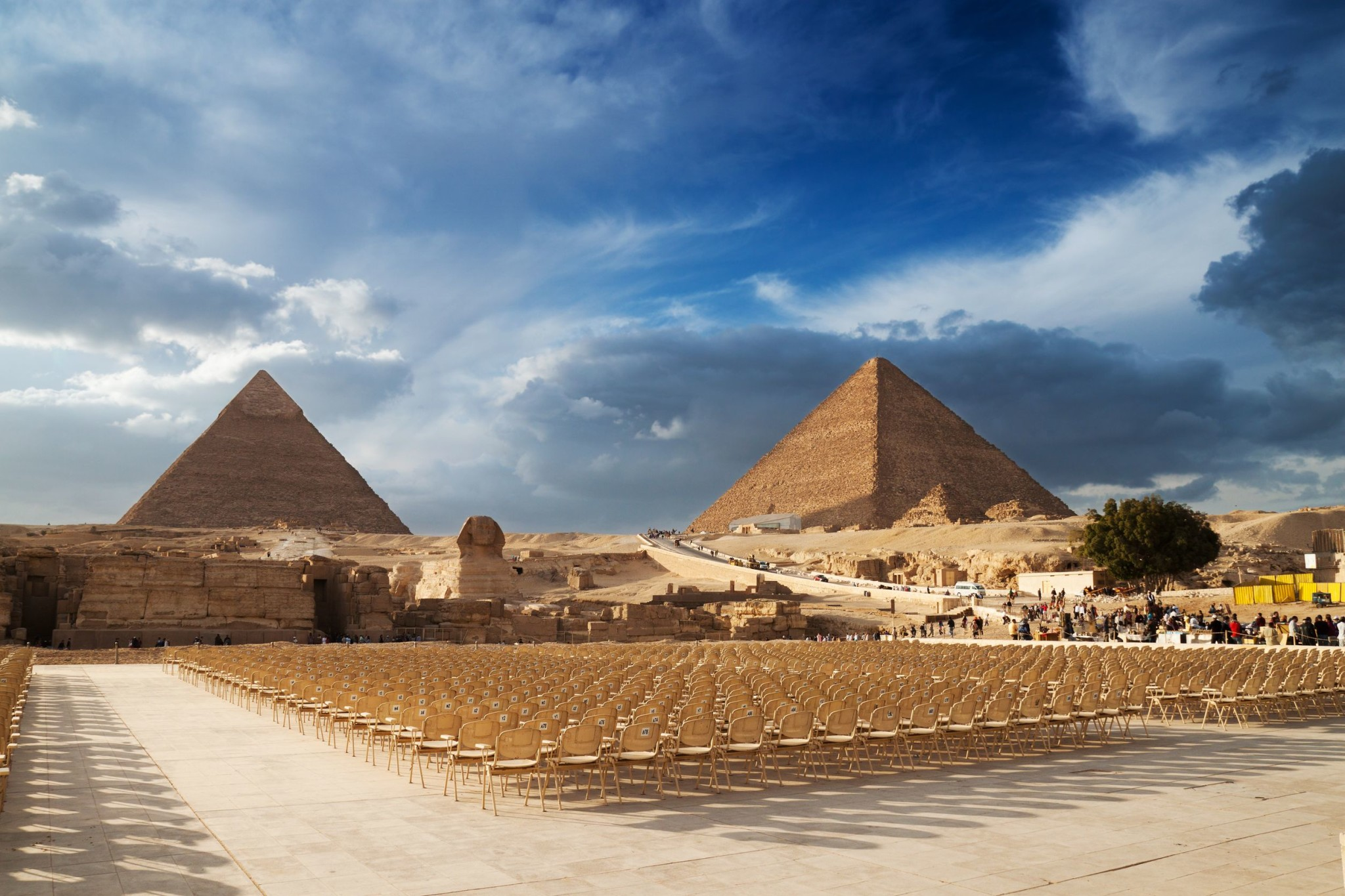 Cairo pyramids in Egypt