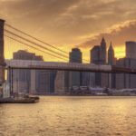 Brooklyn Bridge and Lower Manhattan skyline in New York City NY 150x150 Layover At New York's JFK Airport
