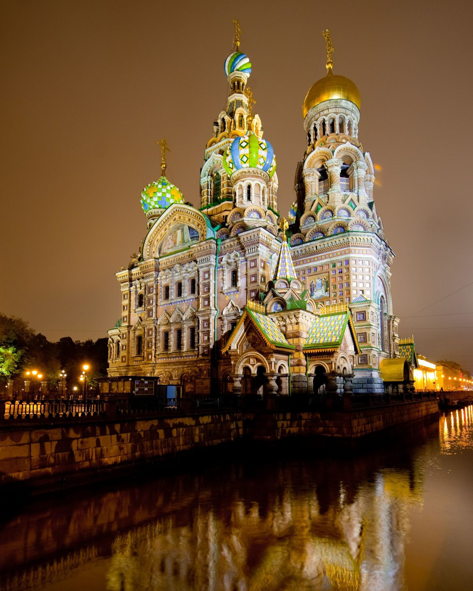 Cathedral of the Resurrection of Christ, in Saint Petersburg, Russia