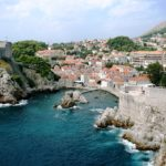 Dubrovnik Old City on the Adriatic Sea in Croatia