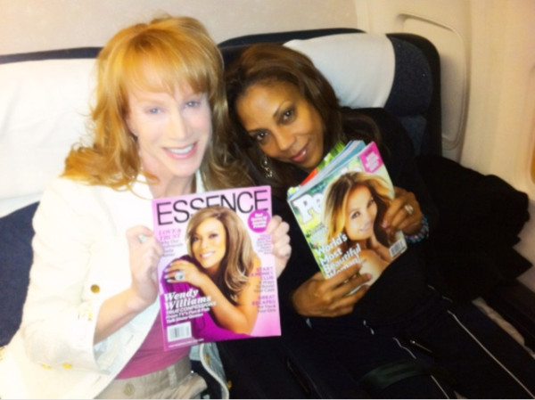 Kathy Griffin and Holly Robinson Peete