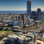 Melbourne downtown skyline