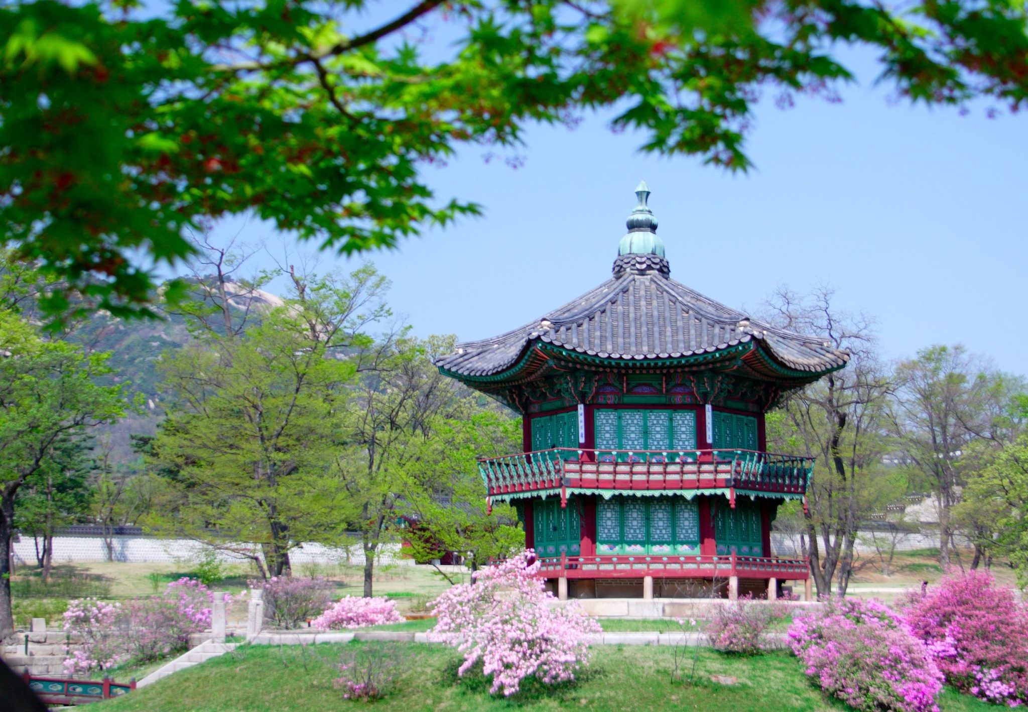 Kyoungbok Palace in Seoul, South Korea