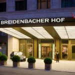 Breidenbacher Hof Hotel In Düsseldorf, Germany