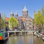 Amsterdam Canal View Holland Netherland