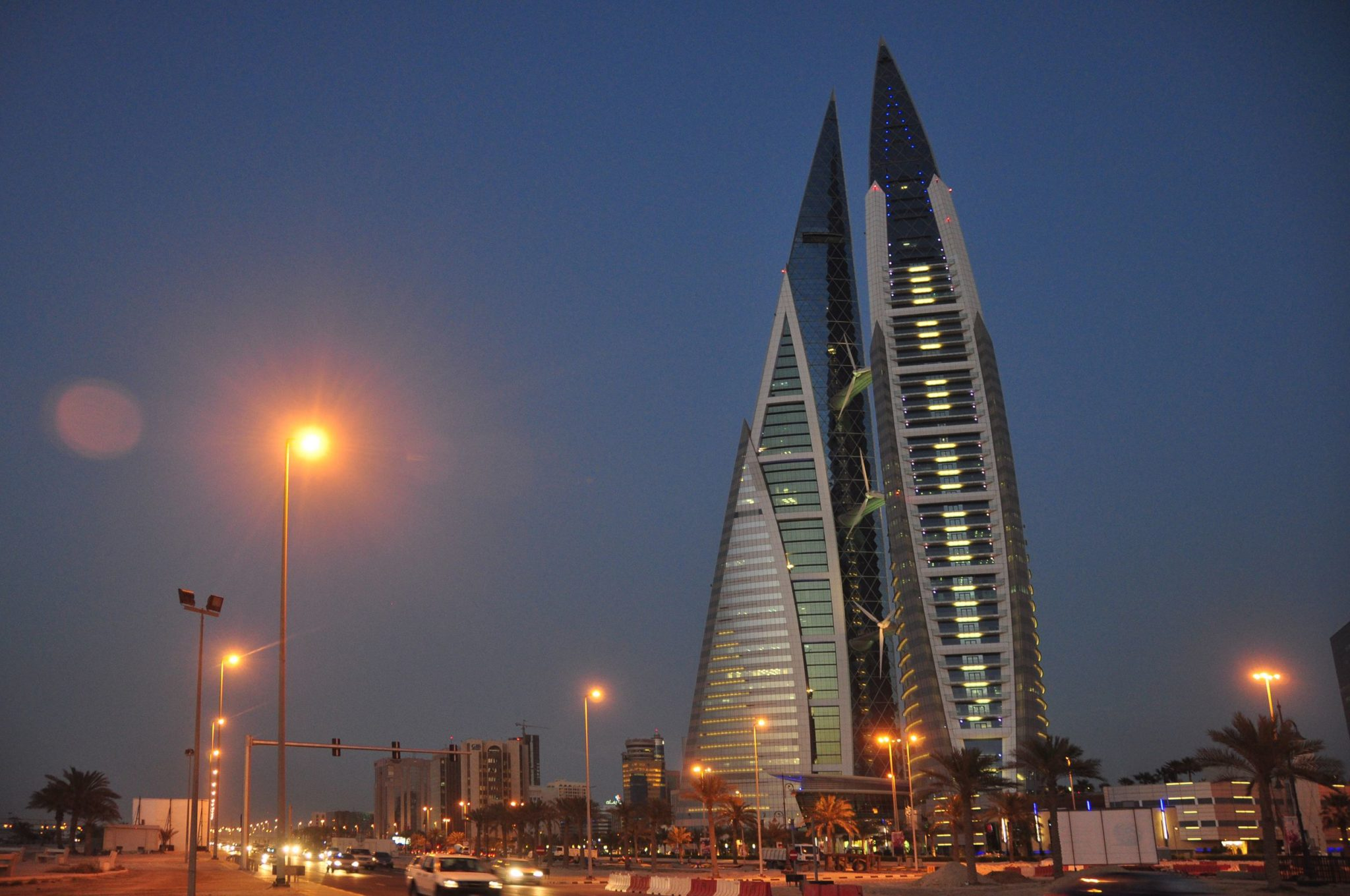 Bahrain World Trade Center in Manama