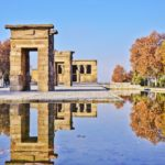 Debod temple, Madrid Spain
