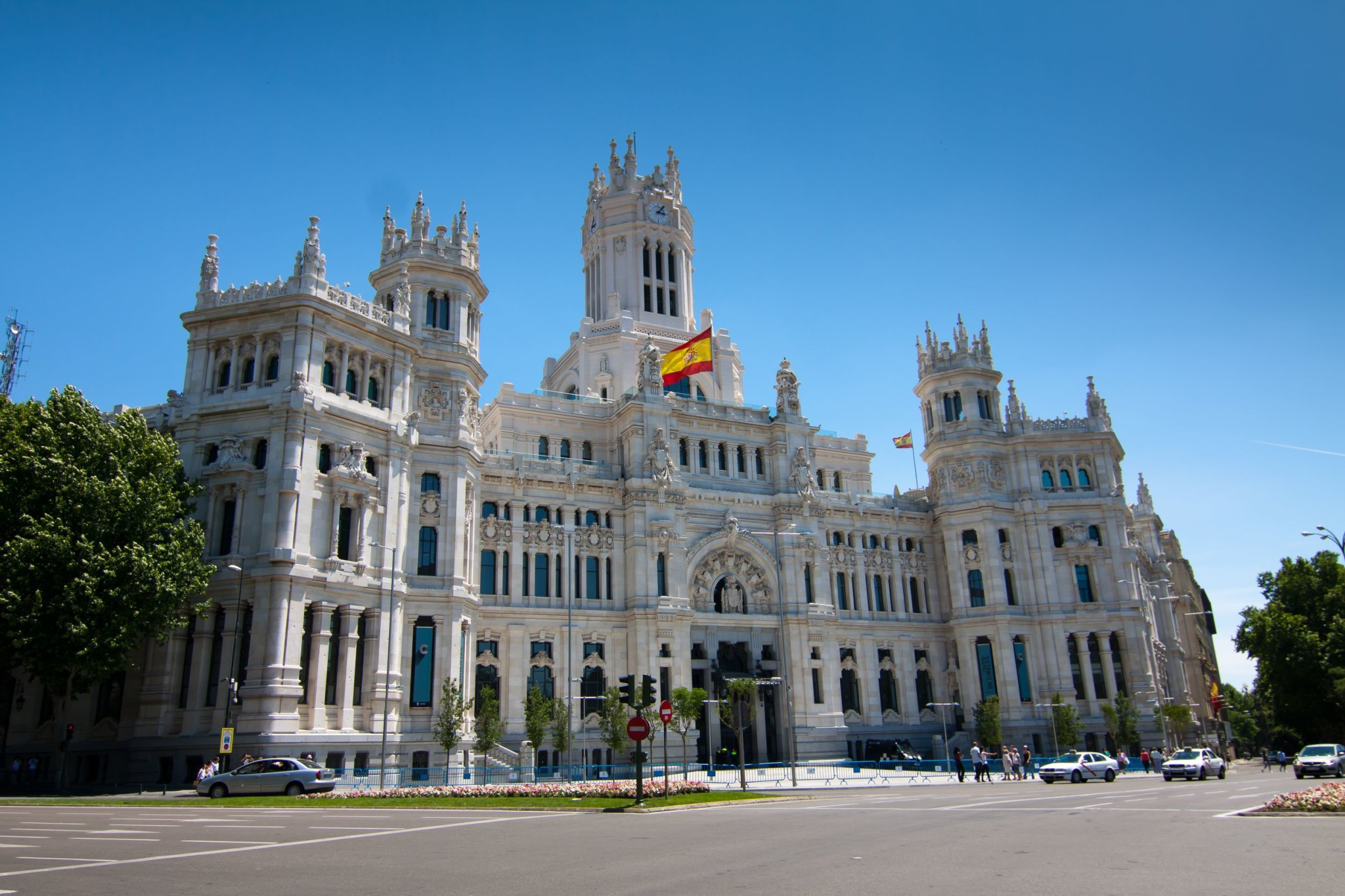 Madrid Town Hall, in Cibeles Square