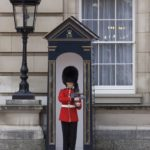 Sentry of the Grenadier Guards outside Buckingham Palace in London 150x150 London Heathrow Layover