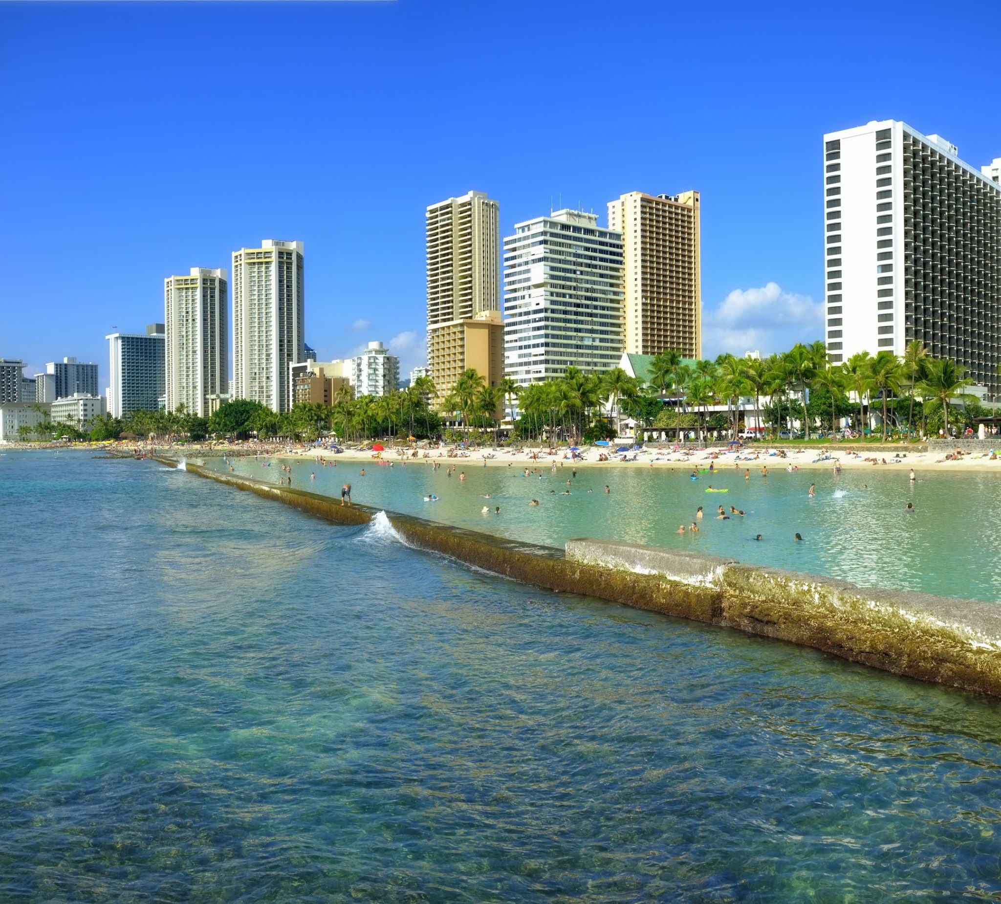Waikiki Beach In Honolulu Hawaii Layover Guide